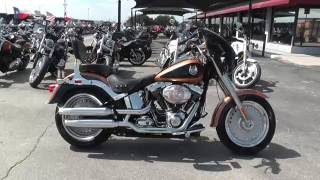 3. 018472 - 2008 Harley Davidson Softail Fat Boy FLSTF 105th Anniversary - Used motorcycles for sale