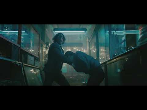 John WIck (2019): Throwing Knives Scene.