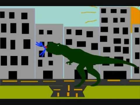 SMFC - Tyrannosaurus Rex vs Superman