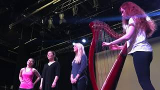 Voices of Angels Rehearsals in Ireland