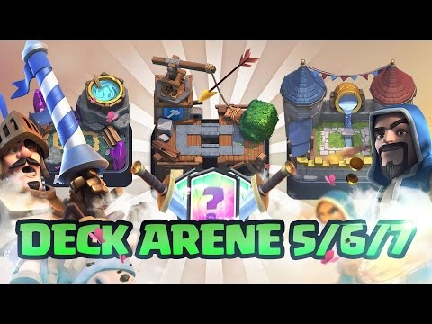 Video clash royale presentation de deck pour arene 5 6 7 for Deck arene 5 miroir