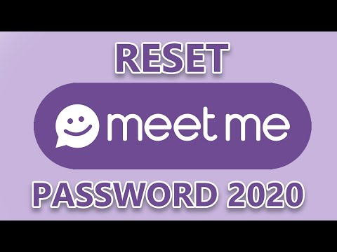 Change Meetme Password Login Information, Account Loginask