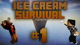 Video [Minecraft] Ice Cream Survival Ep.1 Le bordel !! MP3, 3GP, MP4, WEBM, AVI, FLV Juni 2017