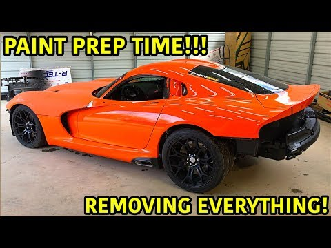 "Rebuilding A Wrecked 2014 Dodge Viper TA ""TIME ATTACK"" PART 14"