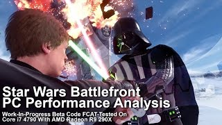 Behold Star Wars Battlefront PC 1080p on max settings