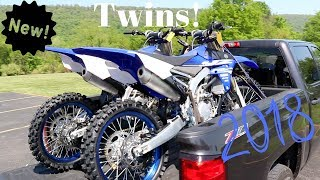 8. Buying two brand new 2018 Yamaha yz 250f's!