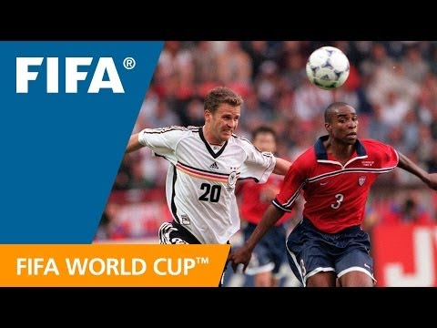 World Cup Highlights: Germany - USA, France 1998