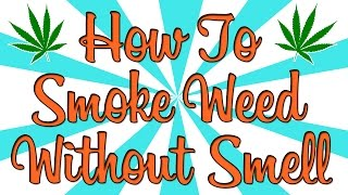 HOW TO SMOKE WEED WITHOUT SMELL?? by Strain Central