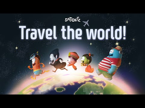 Travel The World Song | Spookiz | Cartoons for Kids