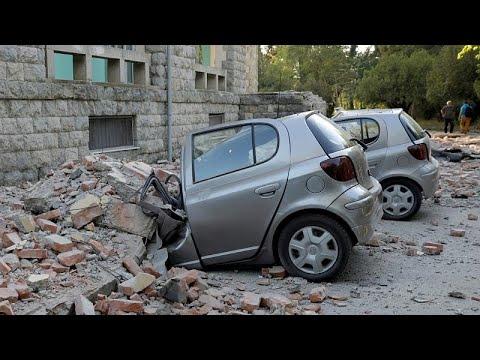 Ισχυρός σεισμός στην Αλβανία