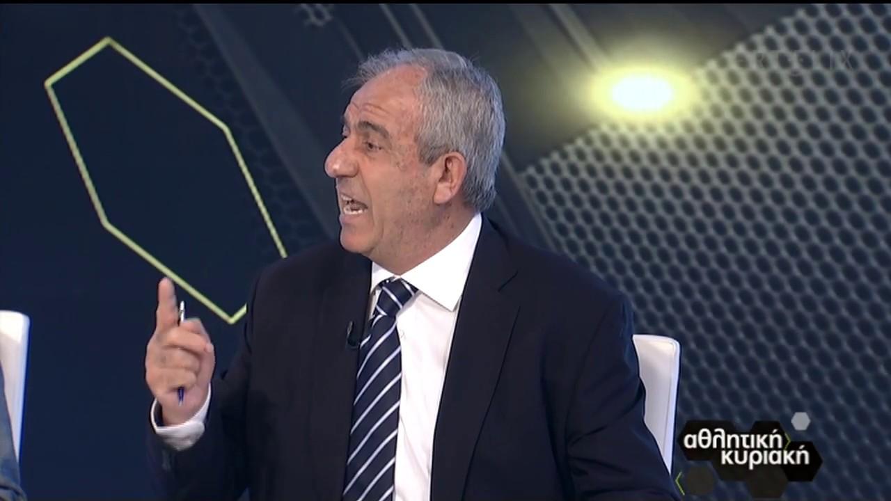 Βαρούχας: Σωστά ακυρώθηκε το γκολ του Χασάν | 12/07/2020 | ΕΡΤ