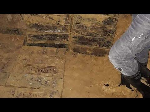 Treasures of Yamashita found on a cave