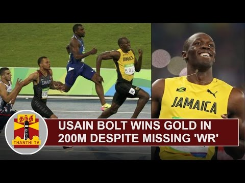 Usain-Bolt-wins-Gold-in-200M-Despite-missing-World-Record-Thanthi-TV