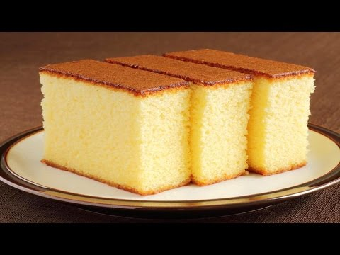 Sponge Cake without Oven - Basic Plain & Soft Sponge cake