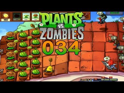 Let's Play Plants vs Zombies #034 Was machen Dachreiniger? (Deutsch) (HD) | LPC