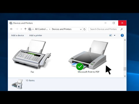 Windows 10 - How to Clear the Printer Queue