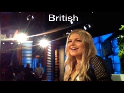 does - Check it out from Ellen¹s perspective as Fergie shows off her talent for accents!