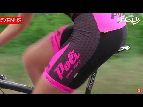 Cuissard de cyclisme Poli modèle Venus | Poli Venus Cycling Bib