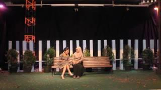 Teater Kosong - Pentas Produksi Senja dengan Dua Kelelawar