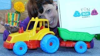 """Видео для Детей """"Маленькое Творчество"""": Маша и FunBox, Огород на подоконнике"""