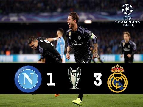 Napoli Fc 1-3 Real Madrid UEFA Champions League [07-03-17]