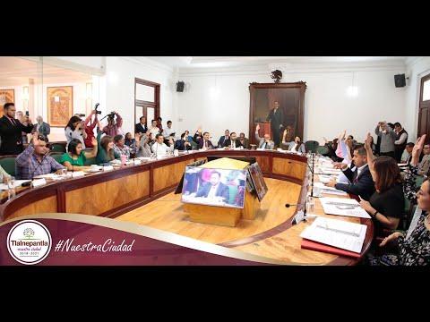 Cabildo H. Ayuntamiento de Tlalnepantla de Baz 04 septiembre del 2019
