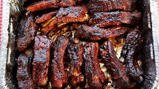 Jenny Jones shows her easy, never-fail recipe for fall off the bone ribs just as good in the oven or on the grill. Her step-by-step video for tender fall off the bone ...
