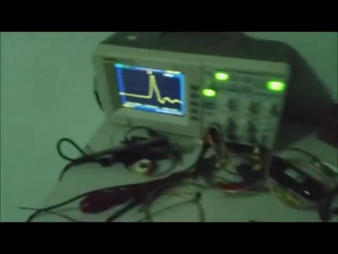 World first 1.1kv Nanosecond generator powered by one wire only