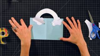 How to Make a Rainbow Pop-Up Card | Pop-Up Cards