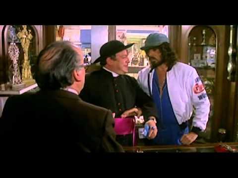 bombolo e il monsignore - scena divertente