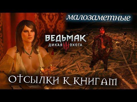 Ведьмак 3 - МАЛОЗАМЕТНЫЕ Отсылки к книгам которые вы могли пропустить - DomaVideo.Ru
