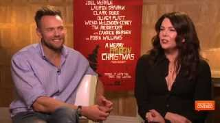 A Merry Friggin' Christmas Interview With Joel McHale and Lauren Graham [HD]