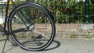 Video test ride , Dutch bicycle by BRIK , no chain , shaft driven !!  ( cardan fiets ) MP3, 3GP, MP4, WEBM, AVI, FLV Agustus 2018