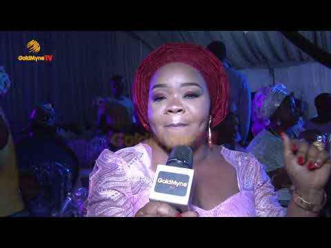 ACTRESS ABIMBOLA & OKIKI AFOLAYAN'S WEDDING RECEPTION IN LAGOS