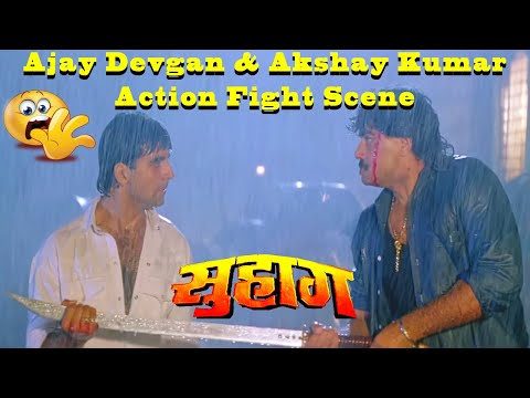 Video Ajay Devgan & Akshay Kumar Action Fight Scene In Suhaag Action Drama Movie download in MP3, 3GP, MP4, WEBM, AVI, FLV January 2017
