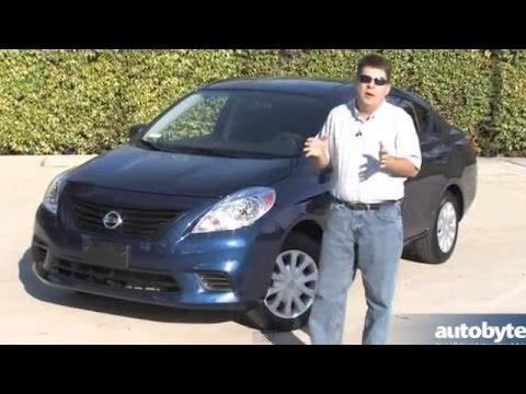 2014 Nissan Versa S Sedan Video Review