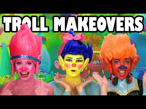 Trolls Makeovers. Totally TV