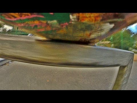 Skate Tricks Look Even Gnarlier From The Skateboard's-Eye View