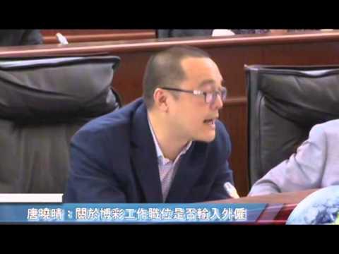 唐曉晴-20131029立法會議