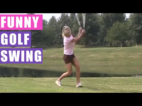 Funny Golfing While Blindfolded HD