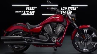 9. New 2016 Victory Vegas® Sunset Red Available For Sale in McKinney, TX