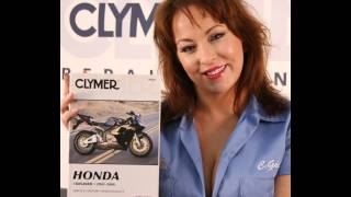 8. Clymer Manuals Honda CBR600RR CBR RR 600RR Repair Shop Service Maintenance Manual Video