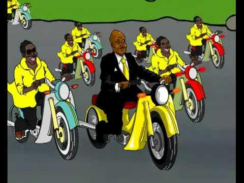 Another Rap   Y K Museveni Cartoon