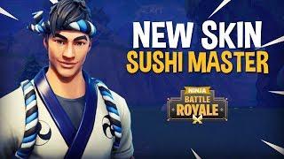 Video New Sushi Master Skin!! - Fortnite Battle Royale Gameplay - Ninja MP3, 3GP, MP4, WEBM, AVI, FLV November 2018