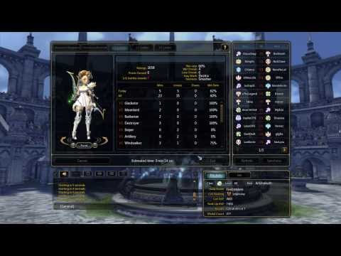 Dragon Nest Sea - Lvl 60 Artillery Ladder PVP Volume 2 (9 matches)