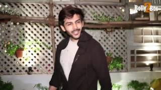 Kartik Aaryan Spotted at The Fable Restaurant Juhu.Click NOW  For the spiciest gossip updates :-http://goo.gl/vHrhfIts For Free !!!!