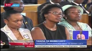 Viongozi Na Wakenya Wajumuika Na Familia Kwa Misa Ya Kumpa Mkono Wa Buriani Mama Lucy Kibaki
