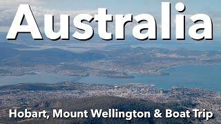 Hobart Australia  city photos : Australia - Tasmania - Hobart, Mount Wellington & Boat Trip
