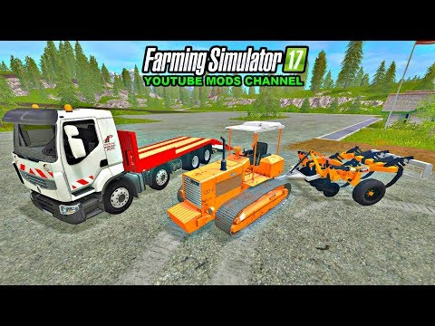 Renault low loader truck with folding ramps v1.0.0.1