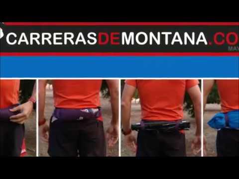 Salomon Pulse Belt: Cinturon trail running porta bastones. Prueba Julio Santos
